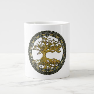 Ancient Tree of Life Jumbo Mug