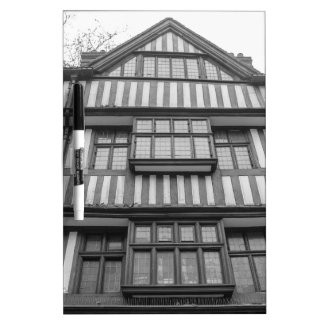 Ancient Tudor house in London Dry Erase Board