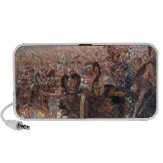 Ancient Warriors Notebook Speaker