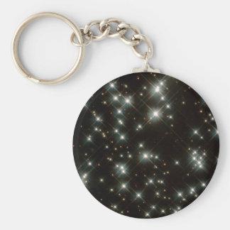 Ancient White Dwarf Stars In The Milky Way Galaxy Keychain