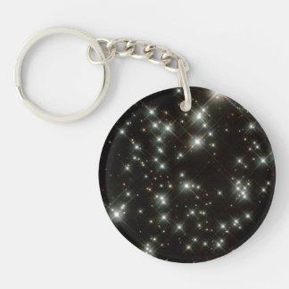 Ancient White Dwarf Stars In The Milky Way Galaxy Acrylic Keychains