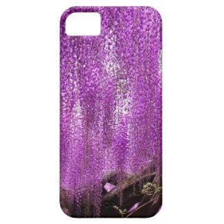Ancient Wisteria Purple Lavender Flowers case