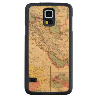 Ancient world empires of the Persians,Macedonians Carved Maple Galaxy S5 Case