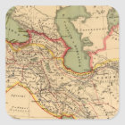 Ancient world empires of the Persians,Macedonians Square Sticker