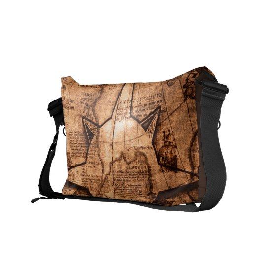 Ancient World Traveller - Map & Compass Rose