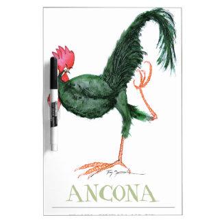 Ancona Hen, tony fernandes Dry Erase Board