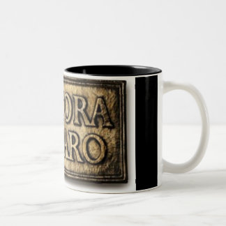 Ancora Imparo (still learning) mug