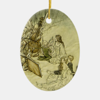 And a Fairy Song - Arthur Rackham Christmas Ornament