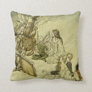 And a Fairy Song - Arthur Rackham Cushion