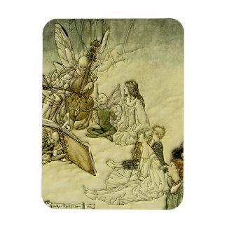 And a Fairy Song - Arthur Rackham Magnet