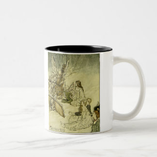 And a Fairy Song - Arthur Rackham Two-Tone Coffee Mug