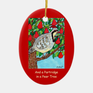 And a Partridge in a Pear Tree Christmas Ornament