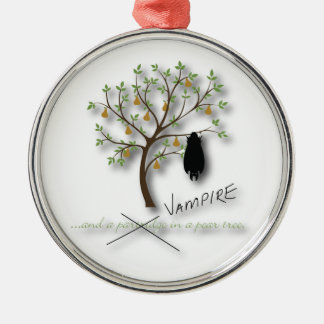 And a vampire in a pear tree christmas ornament