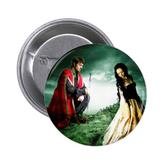 AND CHIVALRY WON HER HEART.jpg 6 Cm Round Badge