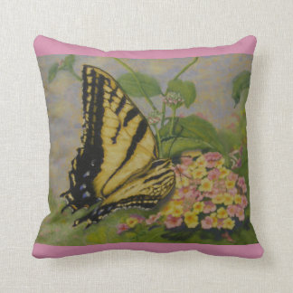 """And God Provides"" butterfly pillow"