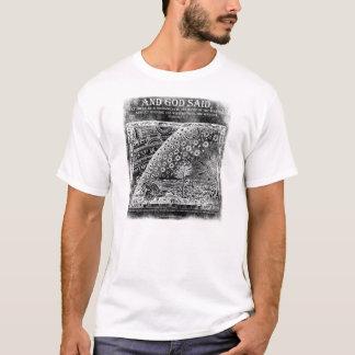AND GOD SAID ~ FLAT EARTH T-Shirt