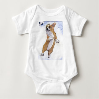 And he soars... And he scores... Baby Bodysuit
