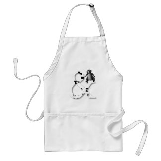 And honey badger apron
