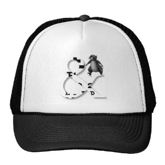 And honey badger mesh hats