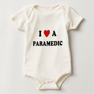 And I Love A Paramedic Baby Bodysuit