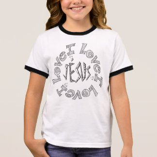 And I will send grass in thy fields Ringer T-Shirt