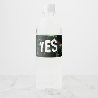 And I will send grass in thy fields Water Bottle Label