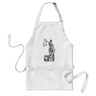 ...and justice for all standard apron