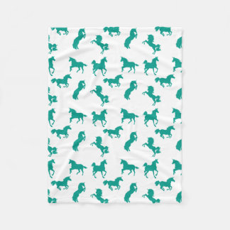 And More Unicorns! Fleece Blanket
