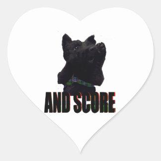 And score sticker