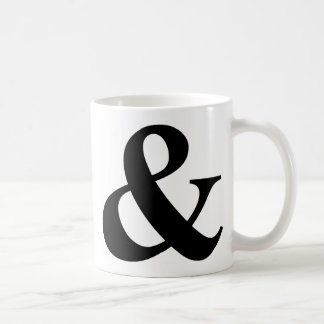 & And Sign Ampersand Logogram Symbol Icon Shortcut Coffee Mug
