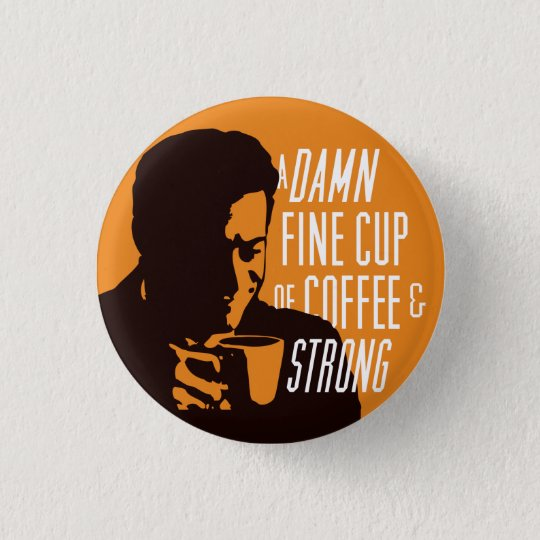 AND STRONG! 3 CM ROUND BADGE