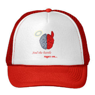 And the Battle Rages On (Good vs Evil) Cap