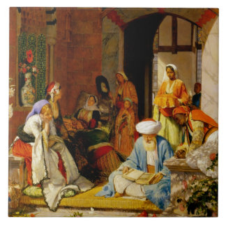 'And the Prayer of Faith Shall Save the Sick', fro Large Square Tile