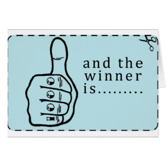 and the winner is Coupon Greeting Cards