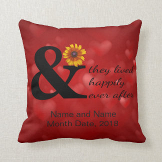 And They Lived Happily Ever After Cushion
