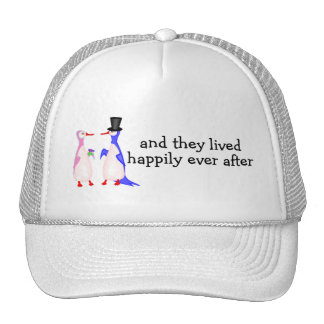 And They Lived Happily Ever After Penguins Cap