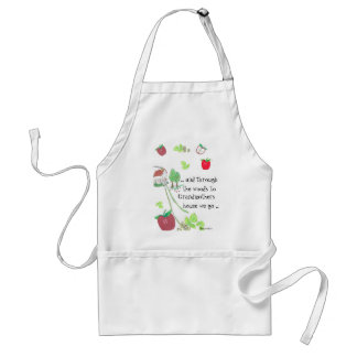 .. and through the woods standard apron