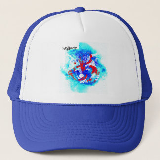 """""""AND wolf"""" by Nick Trucker Hat"""