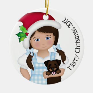 And Your Little Dog ToO!  Dorothy Christmas Ornament