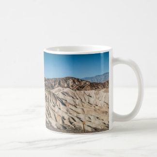 and zabriskie mointains Death valley california pa Basic White Mug