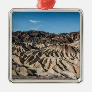 and zabriskie mointains Death valley california pa Silver-Colored Square Decoration