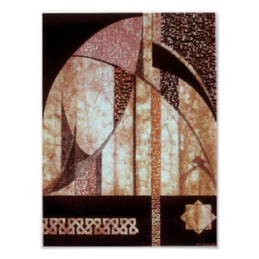 """""""Andalusia""""  art reproduction poster"""