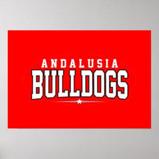 Andalusia High School; Bulldogs Print