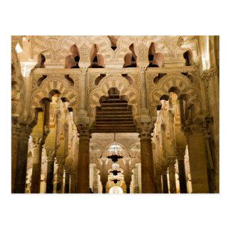 Andalusia - Mosque of Cordoba postcard
