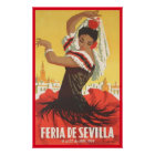 Andalusia, seville poster