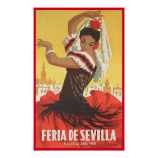 Personalised Female Born To Flamenco Dance Coaster Gift Flamenco Dancing Present