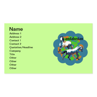 ANDALUSIAN 2 PACK OF STANDARD BUSINESS CARDS