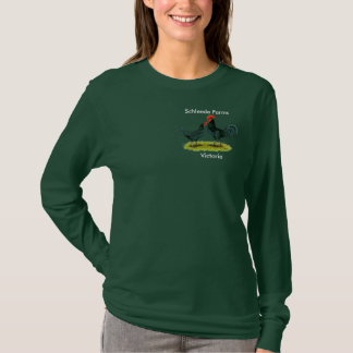 Andalusian_Blue, Schleede Farms, Victoria T-Shirt