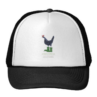 Andalusian Hen, tony fernandes Hat