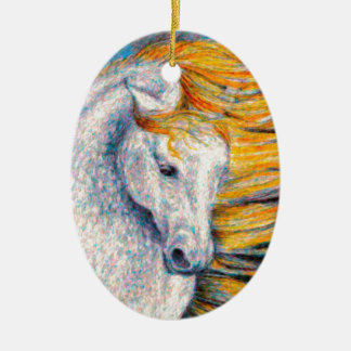 Andalusian Horse Christmas Ornament